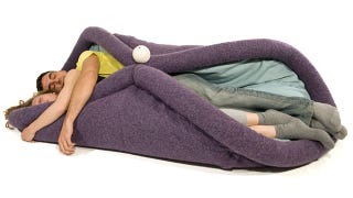 Illustration for article titled Was This Awesome Multi-Function Pillow Inspired By a Burrito?