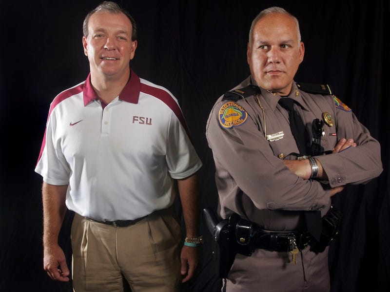 Illustration for article titled Jimbo Fisher Uses A Weird Gun Analogy To Explain FSU's Twitter Ban