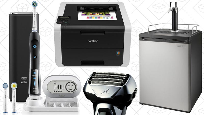 Illustration for article titled Today's Best Deals: Top-Selling Tools, Color Laser Printers, Kegerators, and More