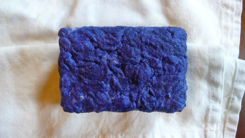 Illustration for article titled How To Make A Felted Soap