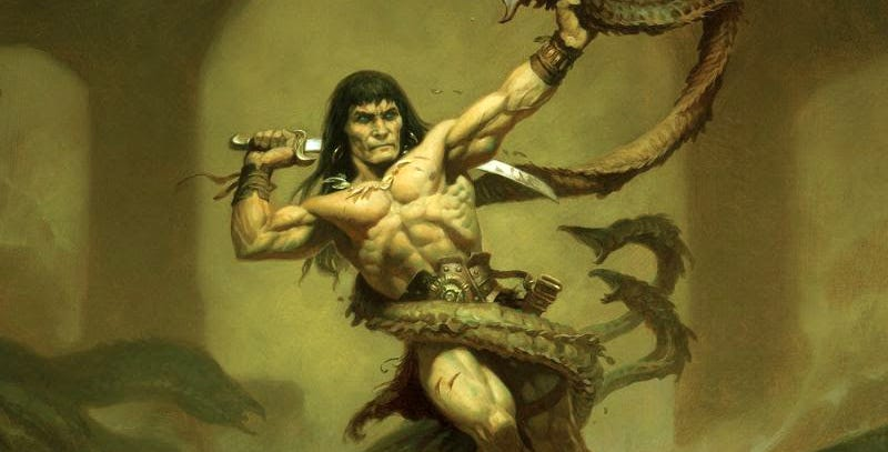 Illustration for article titled What Is Best In Life? To See Brand New Conan the Barbarian Art by Fantasy Mastermind Brom!
