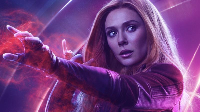 Elizabeth Olsen as the Scarlet Witch.