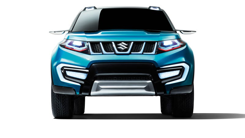 Illustration for article titled 'iV-4' - Suzuki's New Compact SUV Concept Model