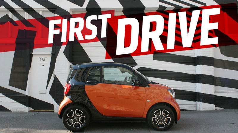 Illustration for article titled The 2016 Smart ForTwo Isn't Allowed To Be As Fun As It Could Be