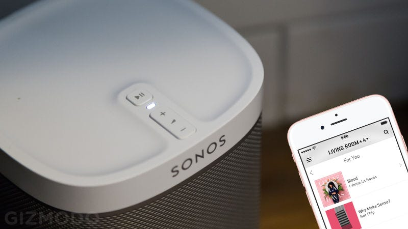 Illustration for article titled Sonos Works With Apple Music At Long Last
