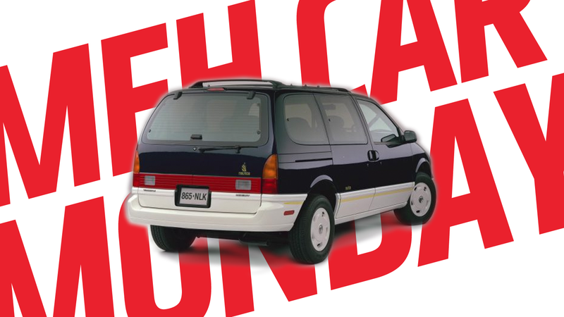 Illustration for article titled Meh Car Monday: Ugh, The Mercury Villager, Especially That Nautica One