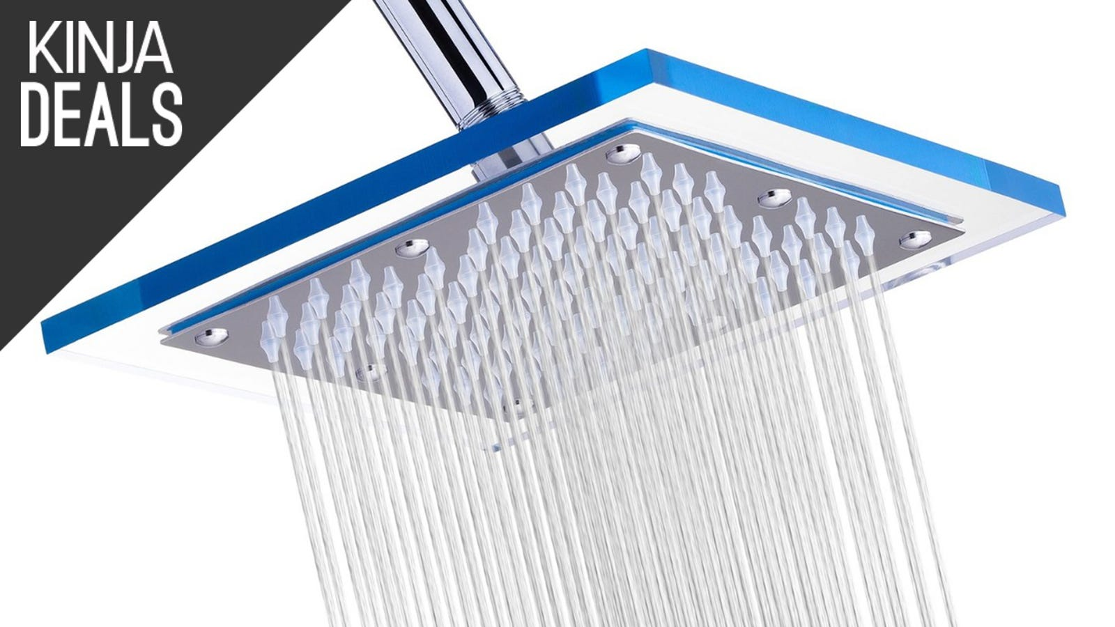 Upgrading to a Rainfall Showerhead is Cheaper Than You\'d Think