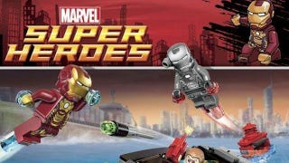 Illustration for article titled New Lego sets offer a peek into Iron Man 3