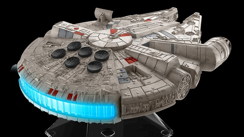 Illustration for article titled A Millennium Falcon Speaker Is the Best Way to Blast John Williams