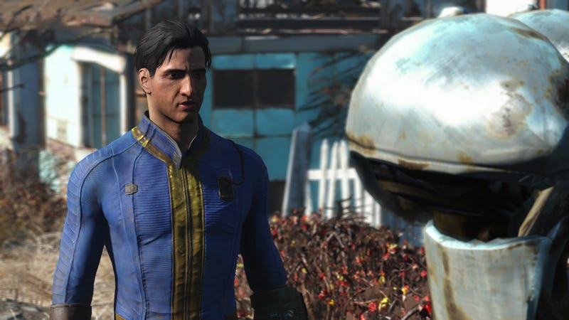 Fallout 4 may use the same engine as Skyrim, but that engine has changed drastically over the years.