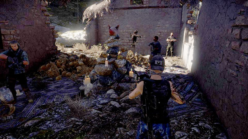 Llama Fetus Leads Ghost Recon: Wildlands Players On a Literal Witch