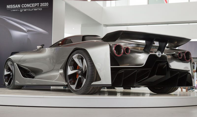 Illustration for article titled The Nissan Concept 2020 Is Obviously The Sci-Fi Future Of The GT-R