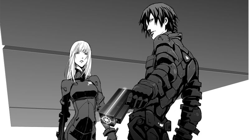 Illustration for article titled Blamefrom Knights of Sidonia's Creator dropped on Netflix today