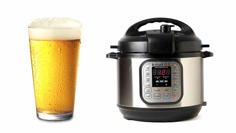 Illustration for article titled Could you homebrew beer in an Instant Pot?