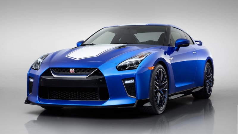 The Nissan GT-R 50th Anniversary Edition Will Get a $9,000 Price Premium and This Nice Blue Color