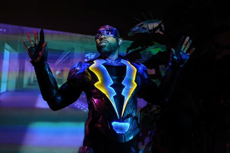 Cress Williams in Black Lightning (Photo: Guy D'Alema/The CW)