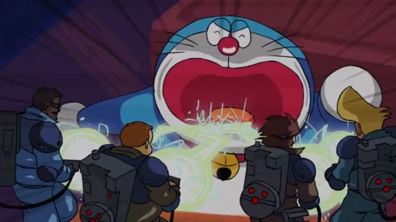 the real ghostbusters go anime in tokyo ghostbusters