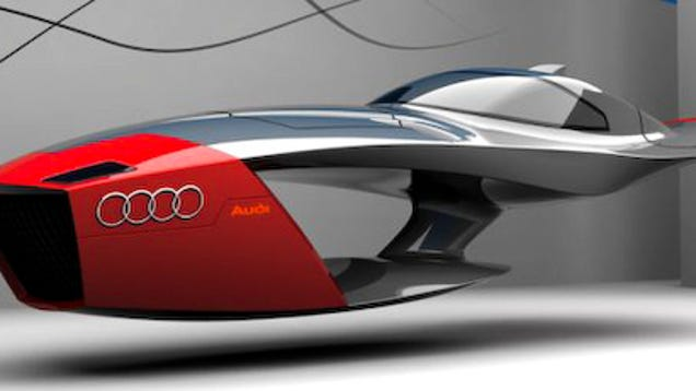 Audi Calamaro Flying Concept Car Takes Future Design