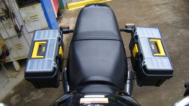 Add A Pair Of Toolbox Saddlebags To Your Bike Or
