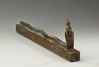 Illustration for article titled Holy Serpent Gods, This Is An Egyptian Coffin Made For A Snake