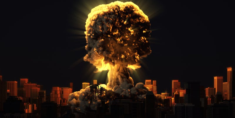 Illustration for article titled What Would Happen If the 20 Biggest US Cities Were Wiped Out With Nukes