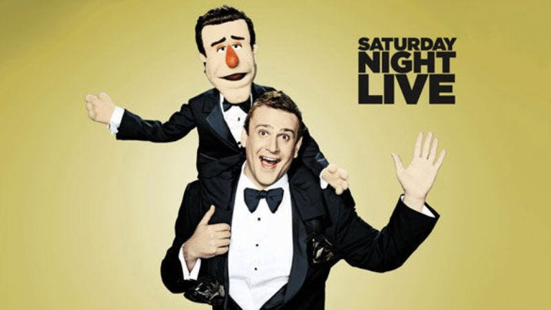 "Illustration for article titled Saturday Night Live: ""Jason Segel/Florence And The Machine"""