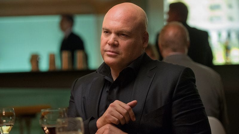 Vincent D'onofrio as Wilson Fisk on Marvel's Daredevil