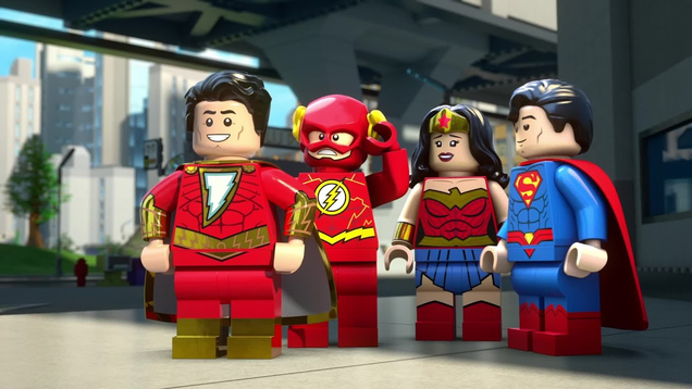 Shazam Gets Ready for His Lego Debut in This Trailer For Shazam! Magic and Monsters