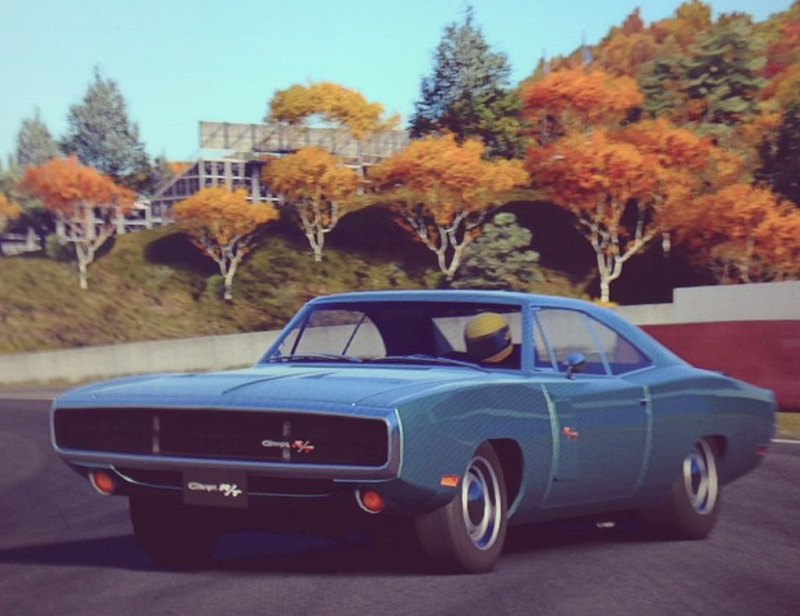 Illustration for article titled I wanted to drive my Newport in GT6...