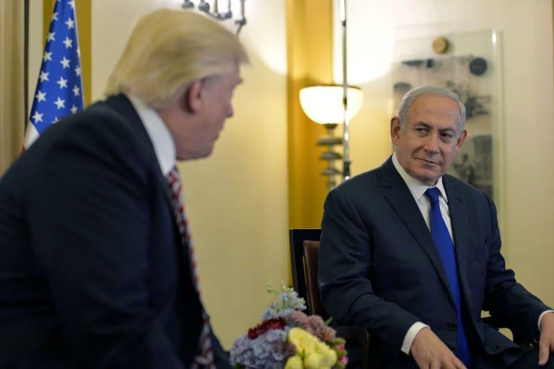 President Donald J. Trump meets with Israeli Prime Minister Benjamin Netanyahu on May 22, 2017, in Jerusalem. (Kobi Gideon/Getty Images)