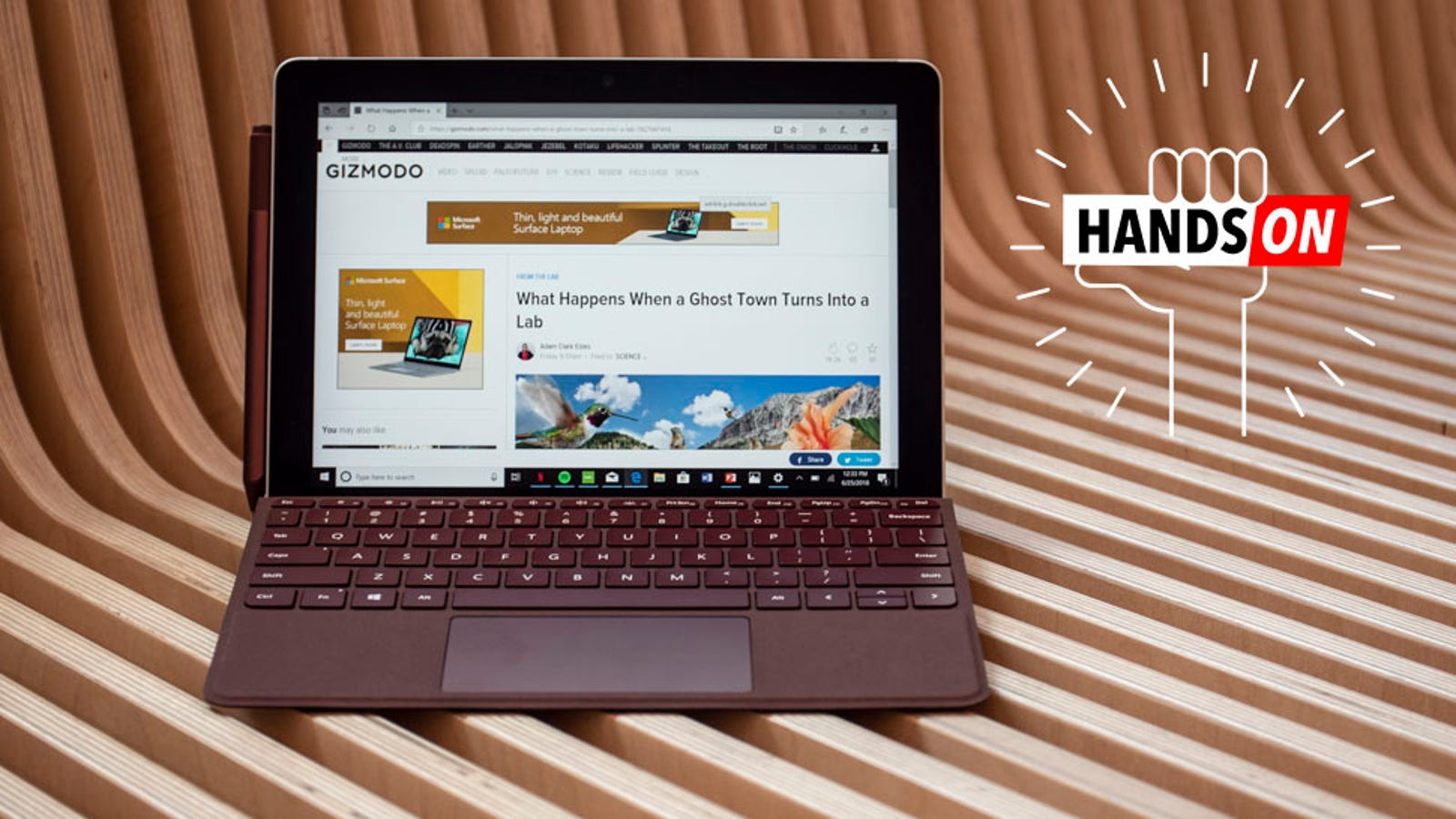 Microsoft Surface Go Is a Cheap, Tiny Tablet That Might Just Beat the iPad