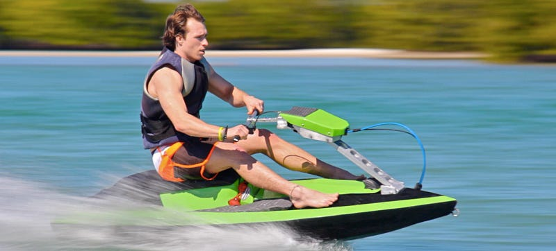 A Build-It-Yourself Modular Jetski That Fits in Your Car's Trunk