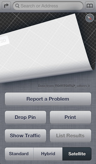 Illustration for article titled iOS 6.1 Beta's Biggest Change So Far Looks Like Bug Reports for Apple Maps
