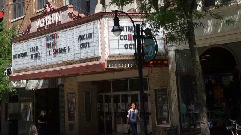 Platteville residents say saving the 80-year-old Orpheum Theater turned out to be kind of a hassle.