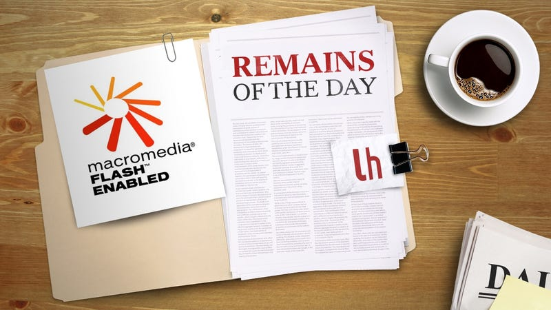 Illustration for article titled Remains of the Day: Google Wants to Kill Flash by the End of the Year