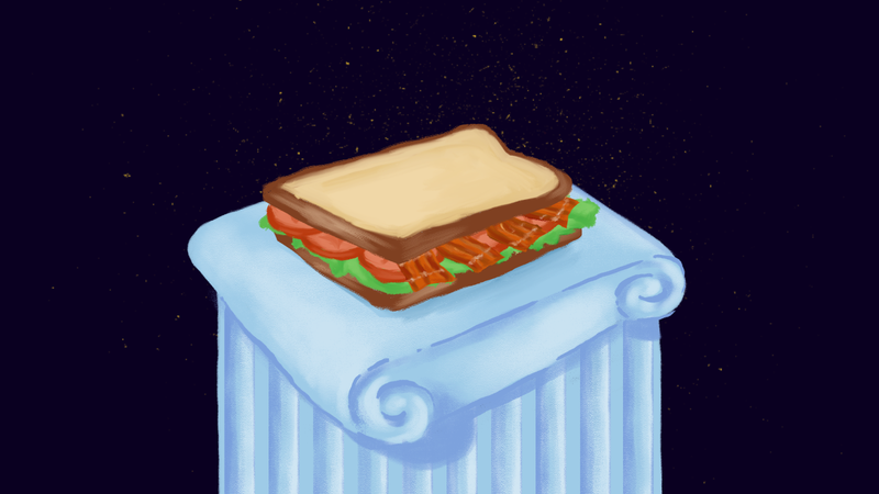 Illustration for article titled What Hero Invented The BLT?