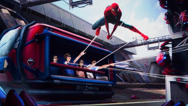 Disney s New Spider-Man Ride Will Allow You to Purchase Upgrades