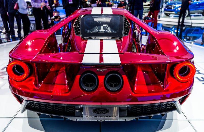 Ford Gt Menempatkan Tenaga Stonert  Horsepower Dan Akan Melakukan  Mph