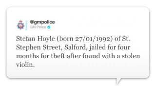Illustration for article titled Police Now Tweeting Name, Address and Birthday of British Looters