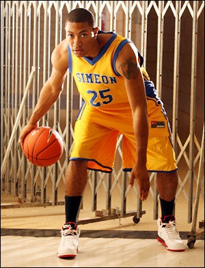 derrick rose high school jersey