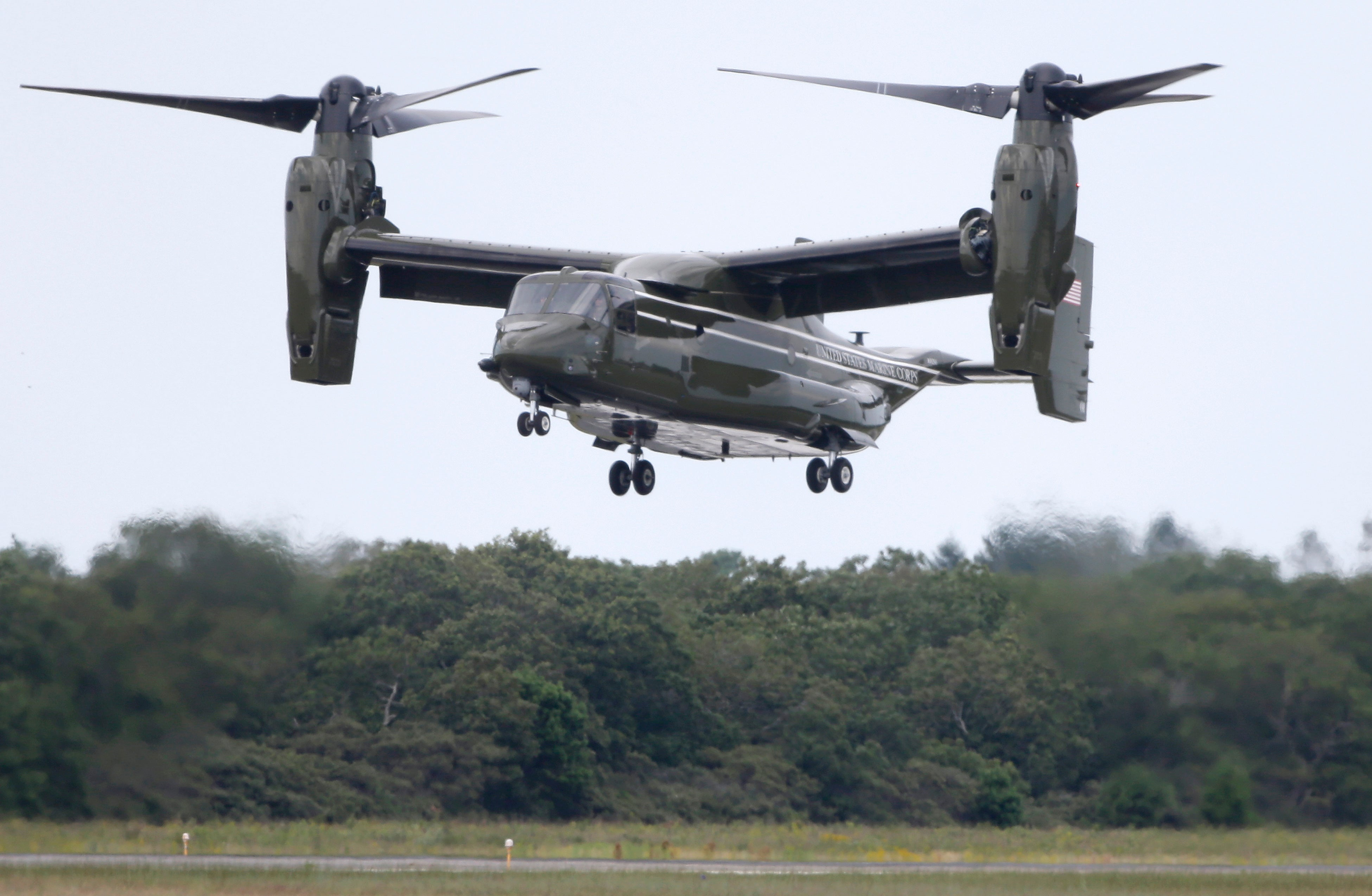 The President Gets a Personal Osprey He's Not Allowed to Use