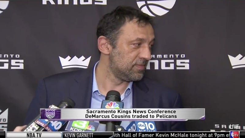 """Illustration for article titled Kings GM Vlade Divac: """"I'm The Dumbest Shithead In The NBA,"""" More Or Less"""