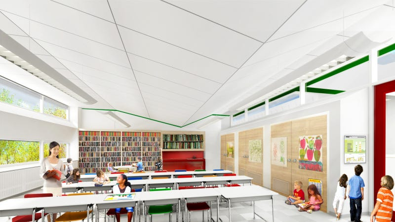 Illustration for article titled One of the most energy efficient schools in the country just opened in Staten Island