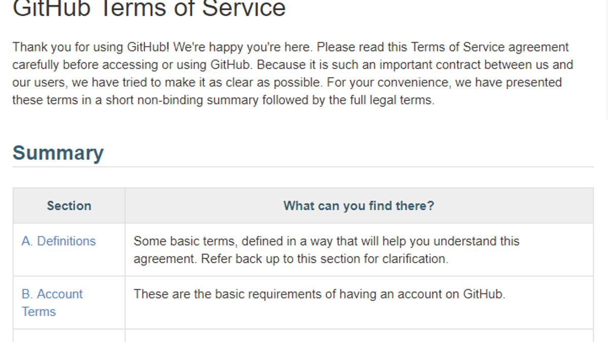 You Still Need To Read Terms Of Service Documents Unfortunately