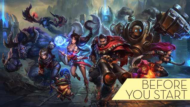 Beginner's Tips For Playing League of Legends