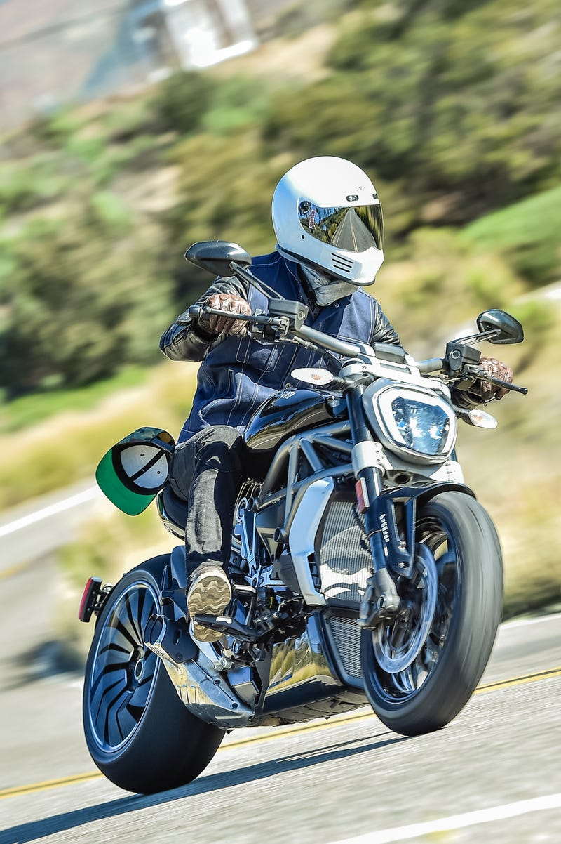 ride review: the 2016 ducati xdiavel is a weird but intriguing