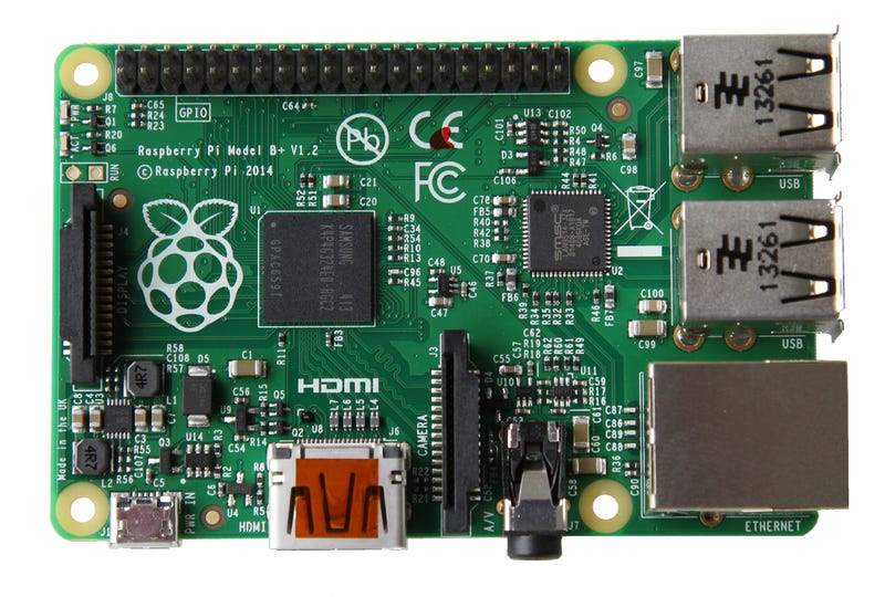 The Raspberry Pi B+ Adds More Ports and Features, Consumes Less Power