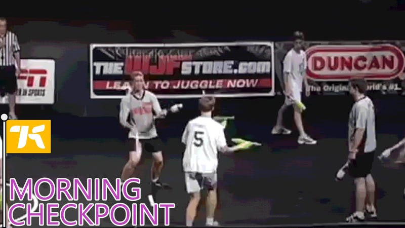 Combat Juggling Looks Awesome