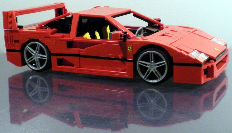 Illustration for article titled I want all of these Lego Ferraris