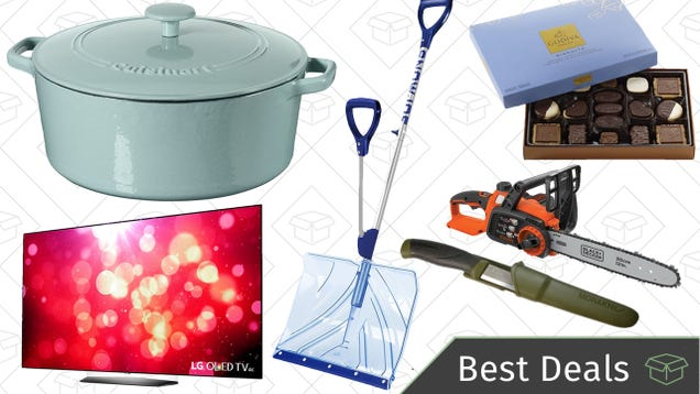 Saturday's Best Deals: Last-Minute Gifts, Snow Removal Gear, Cuisinart Cast Iron, and More